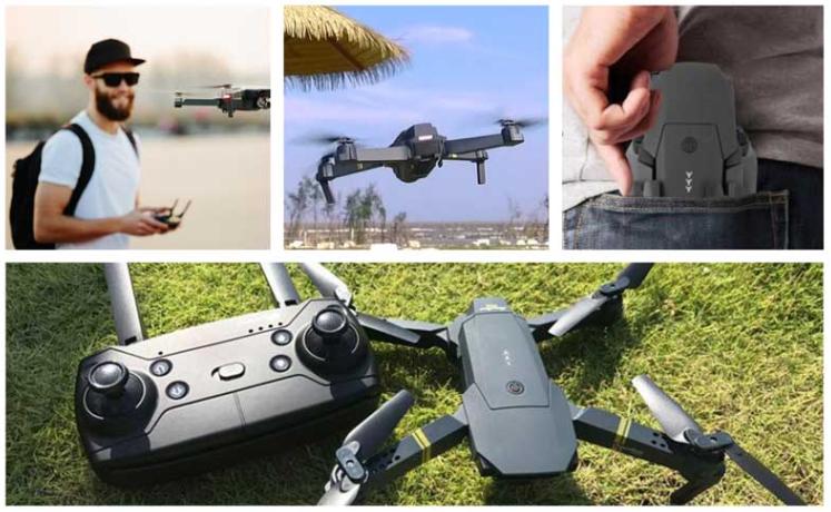 A few DroneX Pro Thumbs