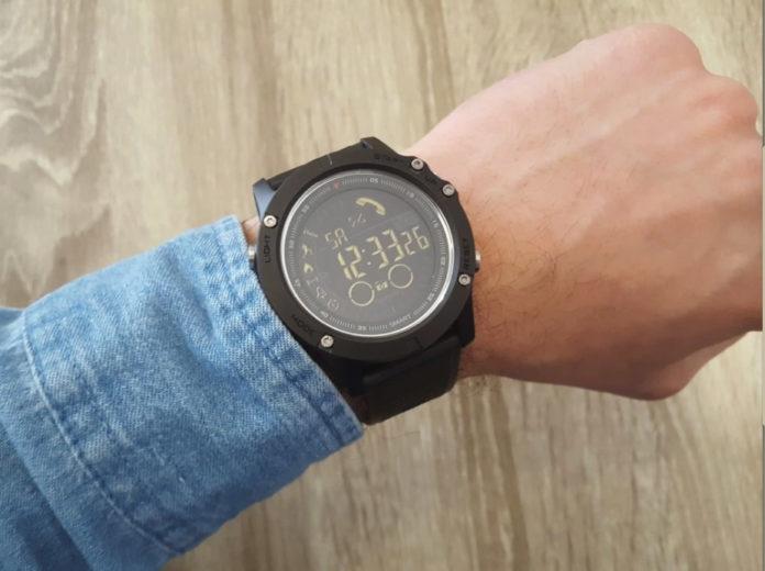 A man wearing Tact Watch